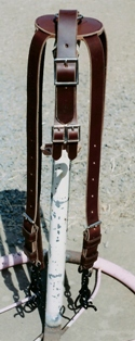 Draught spider leader harness