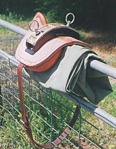 traditional cart saddle